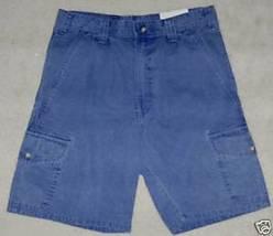 Nwt Woolrich Cargo Shorts Dusty Blue Prewash Men's 30 - $14.60