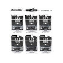 Black Bandit Series 10, 6pc set 1/64 Diecast Model Cars by Greenlight 27750 - $70.67