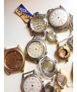 Assortment of Men's Ladie's Wrist Watch Cases and Dials - $72.95