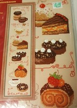 RIOLIS Complete Desserts Wall Hanging Counted Cross Stitch Kit 1257 NEW ... - $19.99
