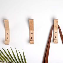 YOYAI 4 PCS Wood Coat Hook Wall Mounted Vintage Single Hook Hat Rack Towel Hange image 6