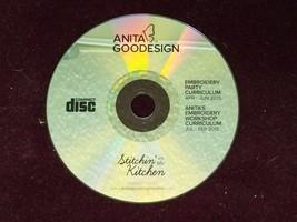 Anita Goodesign STITCHIN IN THE KITCHEN Embroidery Workshop Curriculum C... - $15.83
