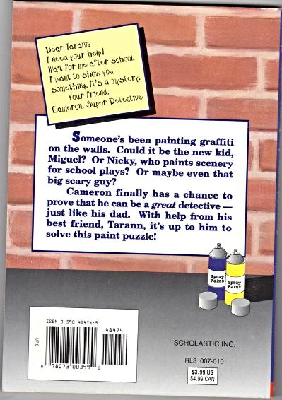 The Spray-Paint Mystery