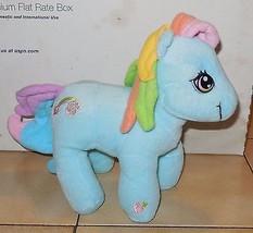 2003 Hasbro Nanco My Little Pony Rainbow Dash Plush Toy Doll - $9.50