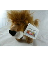 Lion Plush Noah Animal Junction Russ Berrie & Applause 6 X 8 inches Mint... - $6.33
