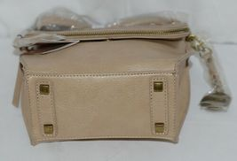 Simply Noelle Brand Tan Taupe Color Floral Leaf Pattern Womens Purse image 5