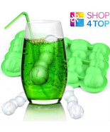 CATERPILLAR BUG WORM SHAPE ICE CUBE TRAY JELLY MOULD FUNNY PARTY NOVELTY... - $9.40