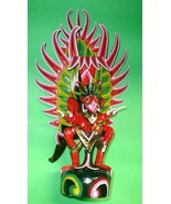 """Bali Garuda handmade wood carving from Indonesia 24"""" size Red  UNIQUE - $296.01"""