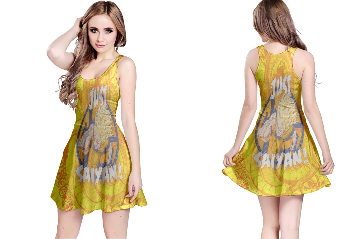 Primary image for Reversible Dress just saiyan Dragon ball