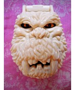 McDonald's 1993 Bluebird Playset Mighty Max Snow Monster Head Compact Toy - $6.99
