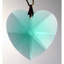 Swarovski Crystal Faceted Heart Prism image 4