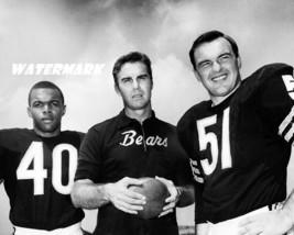 1960's Chicago Bears Sayers Dooley Butkus Black & White 8 X 10 Photo Picture - $5.99