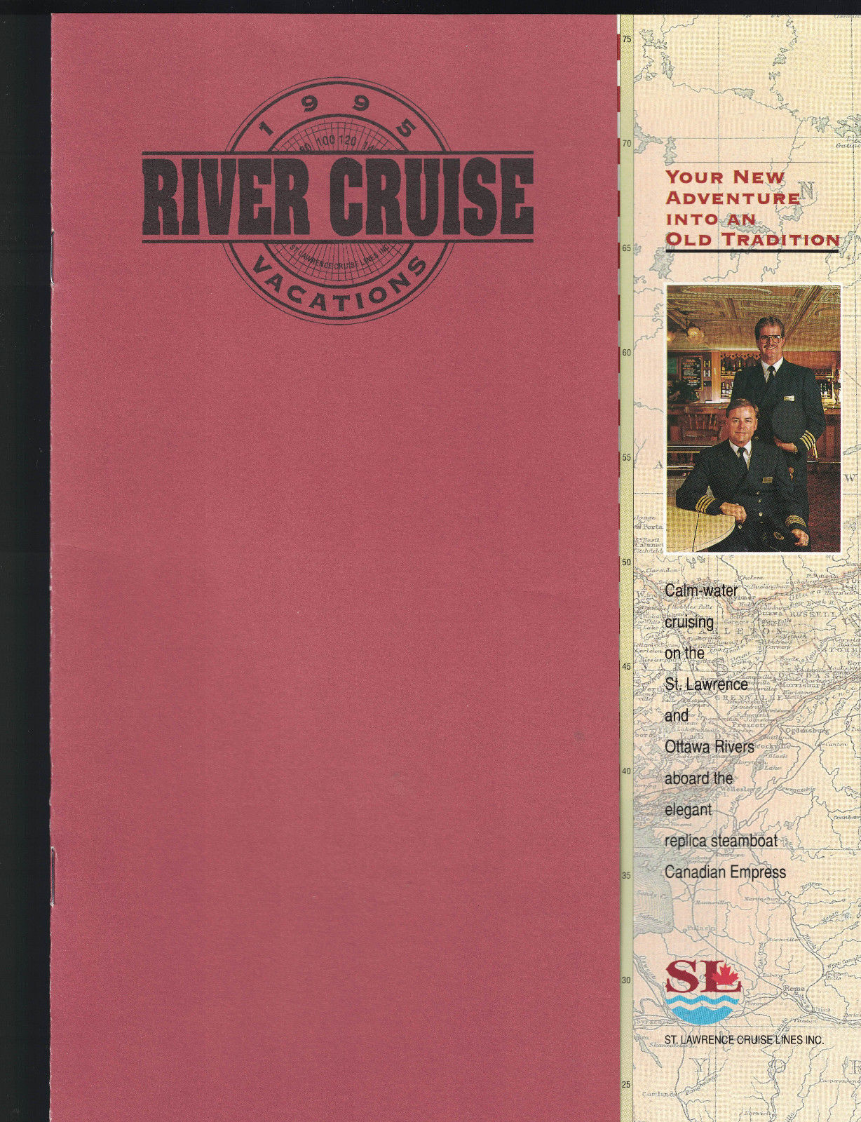 St Lawrence River 1995 River Cruise Vacations Booklet Canadian Empress