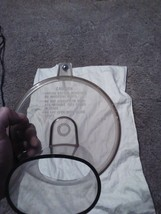 GENERAL ELECTRIC GE MODEL D1FP1 FOOD PROCESSOR REPLACEMENT UPPER LID ONLY - $12.86