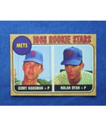 1968 Topps Baseball #177 Nolan Ryan [] New York Mets (RC) Repro - $3.33