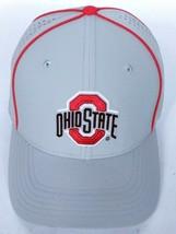 Ohio State University Buckeyes Men's Nike Gray Dri Fit Baseball Hat Strapback - $26.27