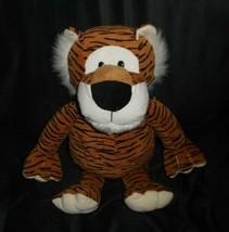 """17"""" Circo Animal Adventure 2008 Orange Striped Tiger Stuffed Plush Toy Target - $34.65"""