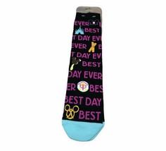 Disney Parks Best Day Ever WDW Icons Unisex Socks - $11.00