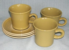 Vintage Franciscan Pebble Beach Cu Ps And Sauce Rs - Set 3 -Green Vguvc - $11.95