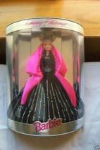 HAPPY HOLIDAY BARBIE DOLL 1998! BNIB! - $27.71