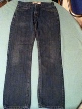 Teen/Men's - Levi 514 - Size 29x32 - blue slim straight- denim jeans/rodeo - $22.99