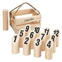 ROPODA Wooden Throwing Molkky Game Set, Original Game, Outdoor Yard and ... - $37.51