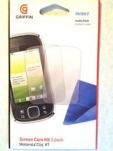 For Motorola CLIQ XT GRIFFIN 2X Clear Guard LCD Film Shield Screen Prote... - $4.46