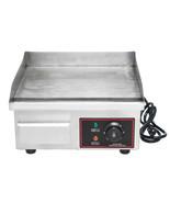 1500W 110V Electric Countertop Griddle Commercial Restaurant Flat Top Gr... - $161.09