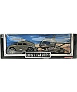 New-Ray Military Force Military Jeep W/ Auxiliary Troop Royal Navy Helic... - $35.63