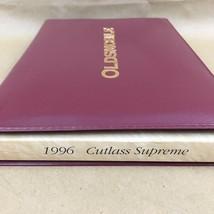 1996 OLDSMOBILE CUTLASS SUPREME Owner's Manual Soft Cover Book Car Vintage - $14.03