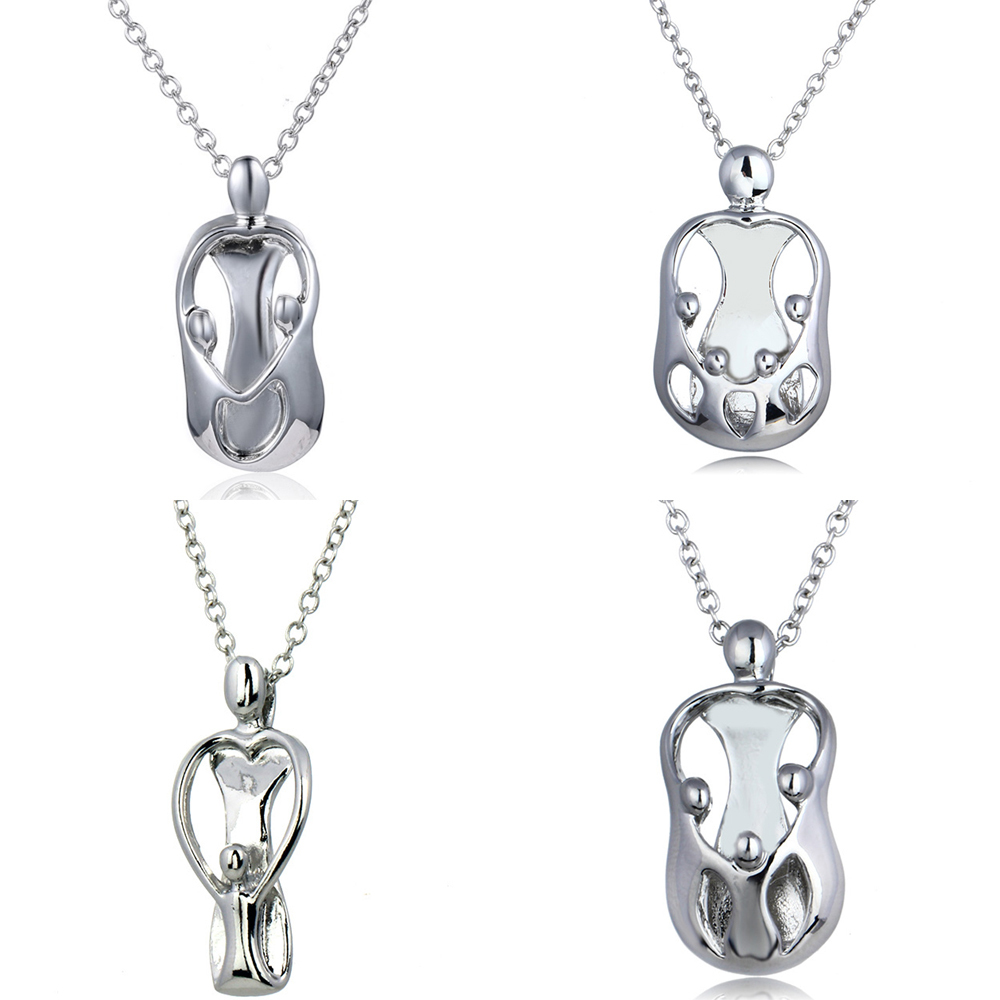 Primary image for Silver Charm Hand In Hand Mother And Her Chilren Family Mom Gifts Mommy Parents