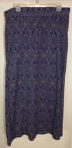 Eddie Bauer Large Skirt Slit Pull-On Cotton Maxi Beach Coverup - $17.75
