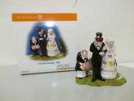 "Dept 56 Snow Village Halloween ""A Gravely Haunting"" 2005 Figurine #56.55270 - $24.74"
