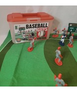 Kaskey Kids Baseball Guys Blue And Red Plastic Players 2005 Missing One ... - $12.86
