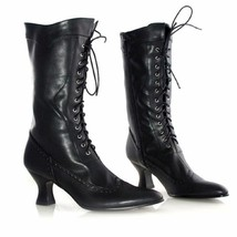 "Ellie Shoes Amelia Victorian Steampunk Gothic 2.5"" Heels shoes Boots 253... - $83.13"