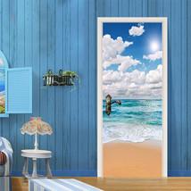3D Meer, Himmel 55 Door Wall Mural Photo Wall Sticker Decal Wall AJ WALL... - $73.11+