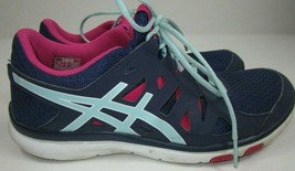 Asics Gel Fit Tempo Womens Sz 8 US Running Training Tennis Athletic Shoes S464N - $14.90