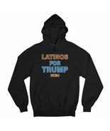 Latinos for Trump 2024 Sweatshirt Keep America Great Conservative MAGA H... - $27.07+