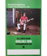 """Danny Kroha """"Angels Watching Over Me"""" 11 x 17 Record Store Promo Poster  - $9.95"""