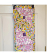 Easter Bunny And Egg Spring Fabric Table Runner  - $15.52