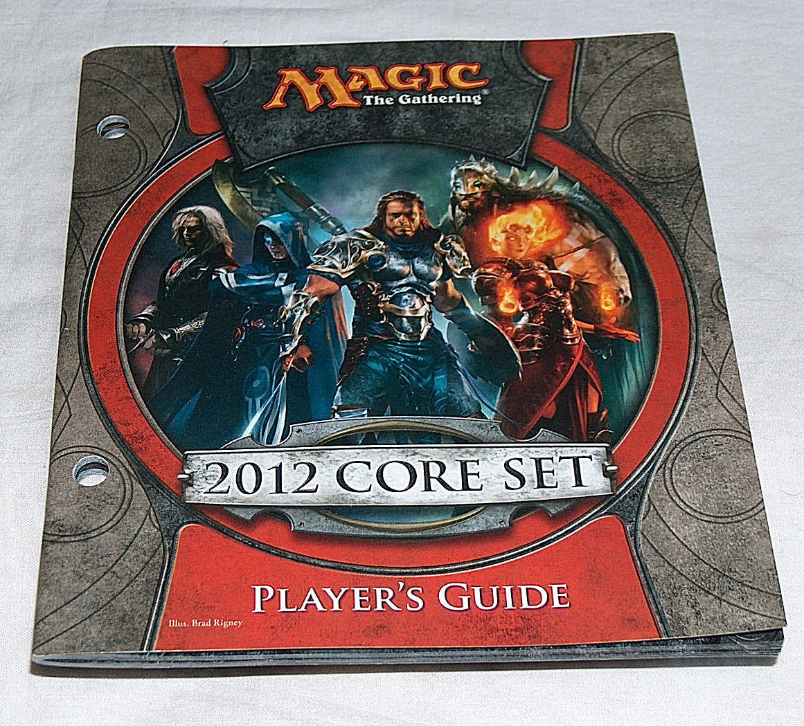 MTG Magic the Gathering 2012 Core Set M12 Player's Guide Booklet Manual