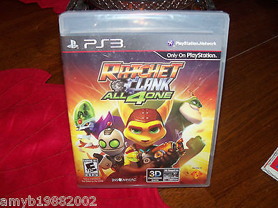 Primary image for RATCHET AND CLANK: ALL 4 ONE (Sony Playstation 3, 2011) NEW
