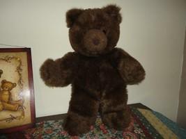 Gund Vintage 1983 Brown Bear Suede Nose Collectors Classic Ltd Edition 18 inch - $182.74