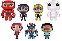 Funko POP! Disney: Big Hero 6 Bundle - Baymax, Pearlescent Nursebot Baym... - $197.99