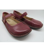 Alegria by PG Lite Burgundy Leather Mary Jane  Shoes Womens Size 40 (9.5-10 - $37.83
