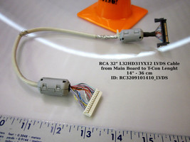 "RCA 32"" L32HD31YX12 LVDS Cable from Main Board to T-Con Lenght 14"" - 36 cm - $13.98"
