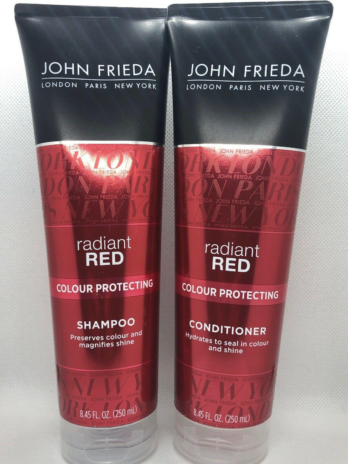 John Frieda Radiant Red Colour Protecting Shampoo & Conditioner Set 8.45 fl oz - $27.00