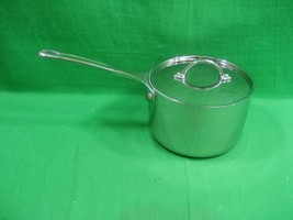 Martha Stewart 3 Quart Stainless Sauce Pan ~ Everday ~ With Lid - $27.07