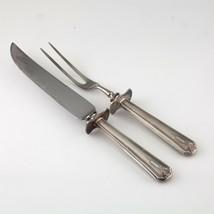 Argent Sterling Sculpture Ensemble W/Sculpture Fourchette Et Couteau, Po... - $124.07