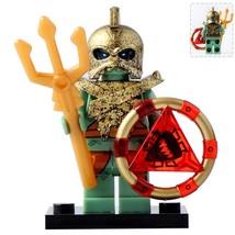 Atlantis Warrior (Fishman armor) Lego Minifigures Block Toy Gift for Kids - $1.99
